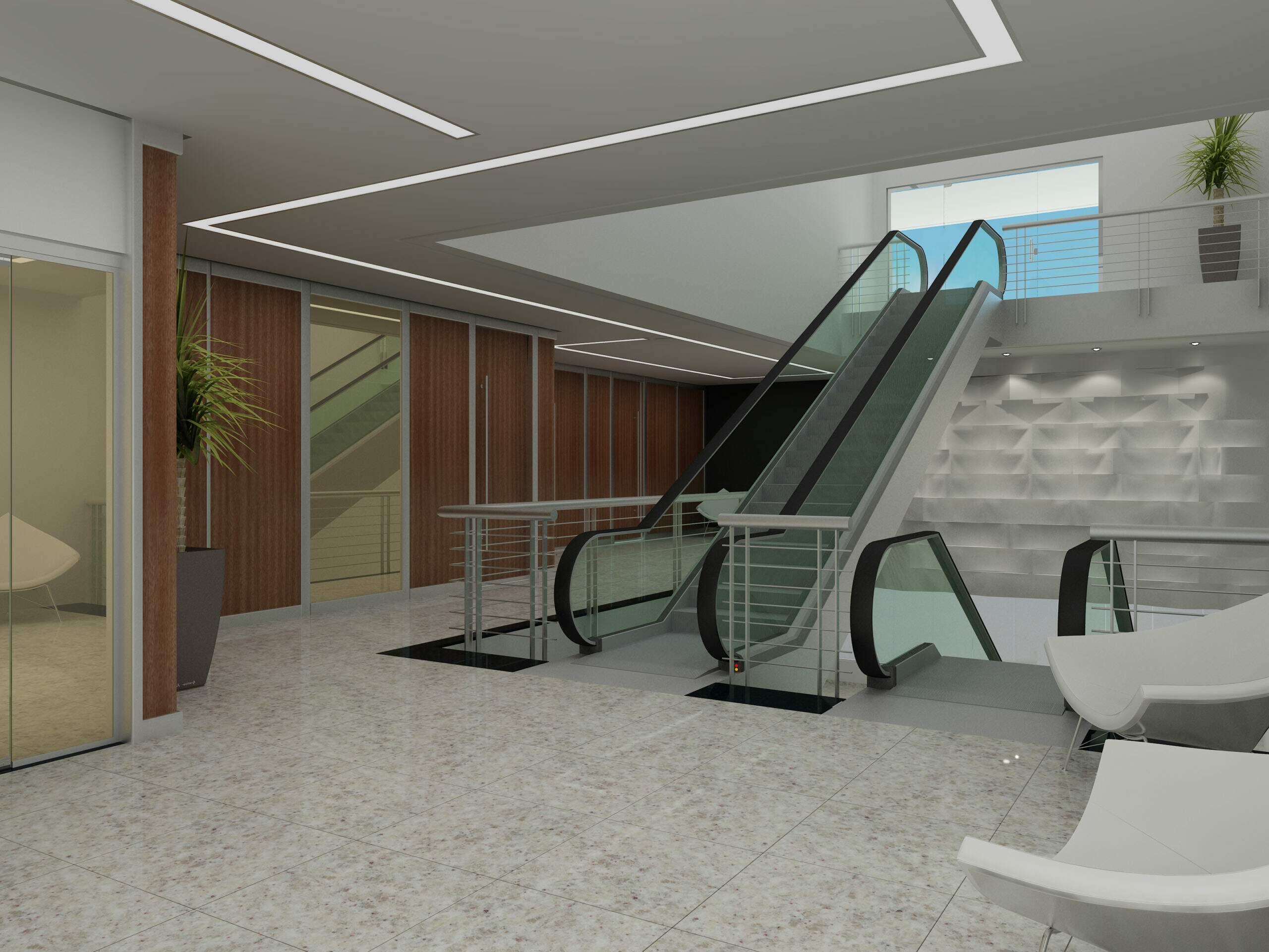 Lobby e Escada Rolante